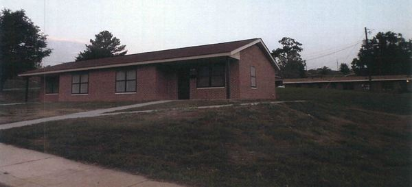 completed brick home